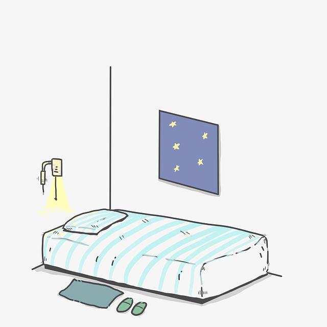 Schlaflosigkeit Raum